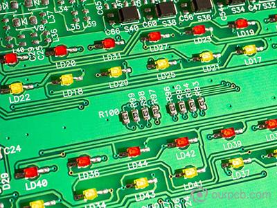 LED PCB montajı
